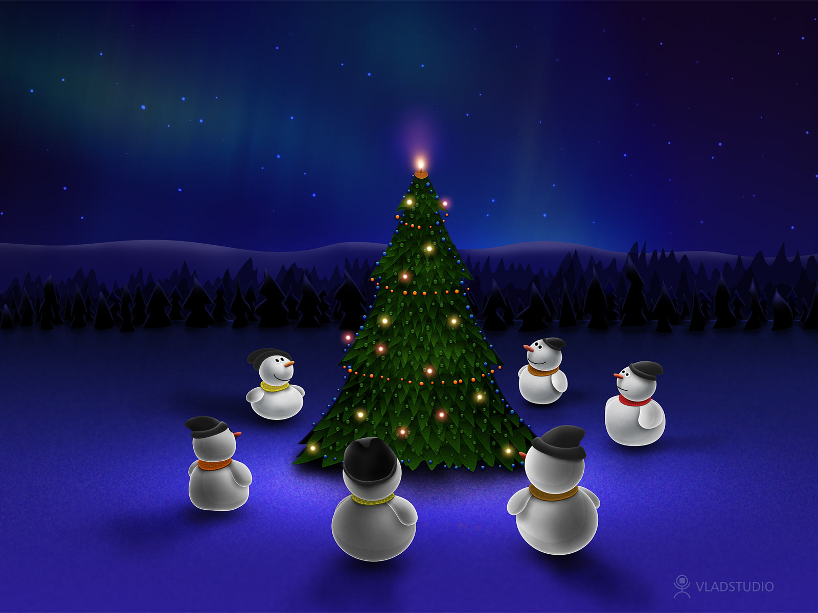 Cute Merry Christmas Wallpapers To Download For Free