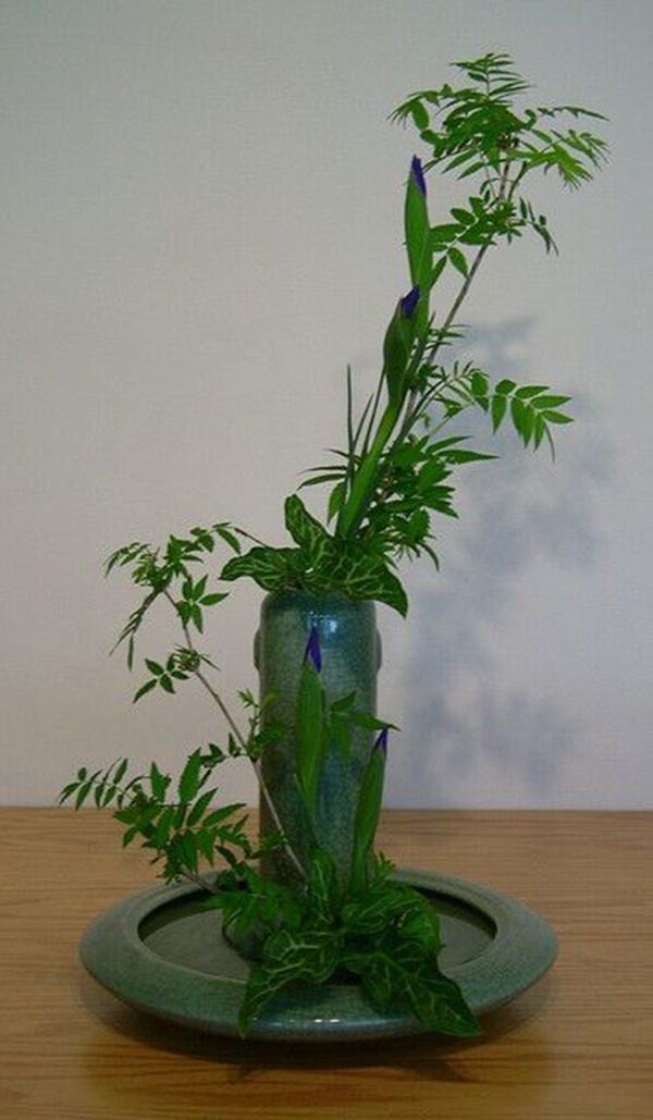 Pictures of japanese art flower arrangement ikebana