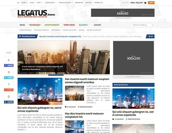 WordPress magazine Themes (11)