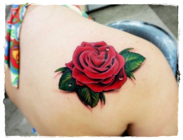 Beautiful-Rose-Tattoos-for-Shoulder