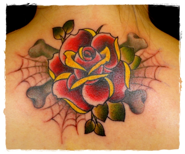 Traditional-Rose-Tattoo