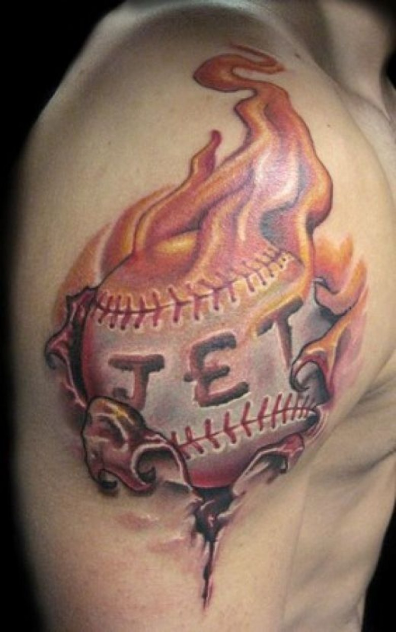 Baseball-Tattoos-Gallery
