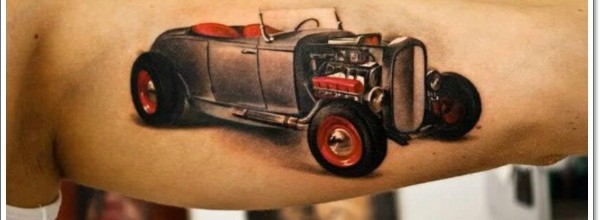 car tattoo design ideas