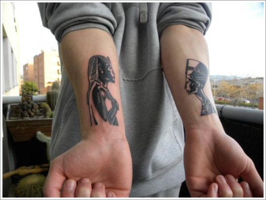 egyptian-tattoo-designs-on-wrists