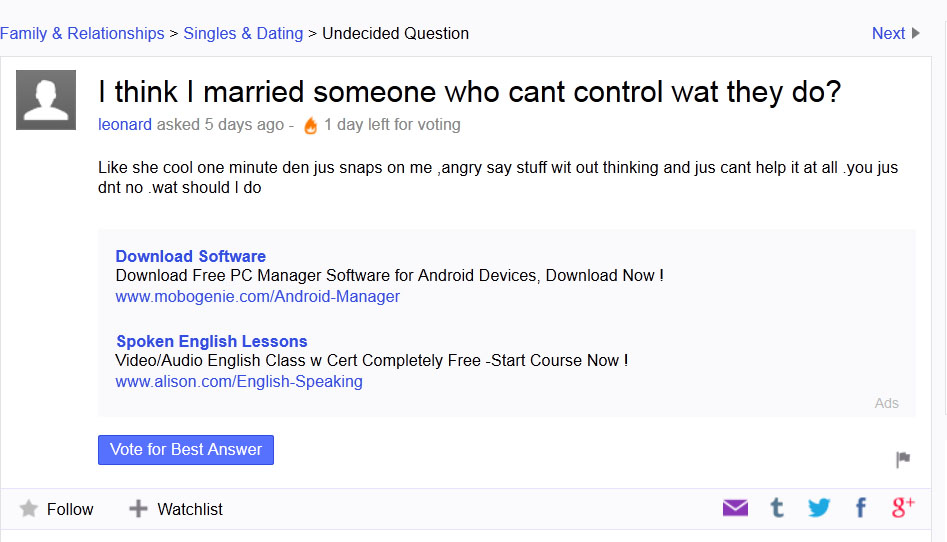 50 funny yahoo answers pictures to pin on pinterest
