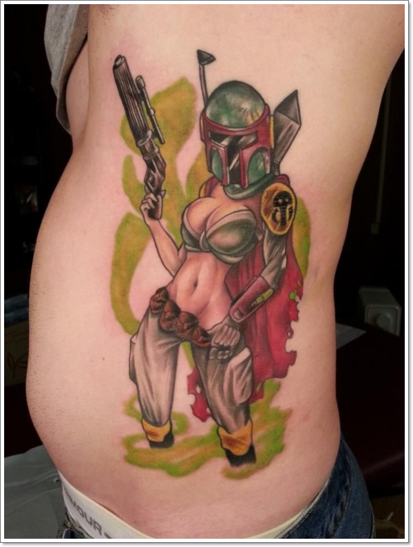 pin up girl tattoos 5
