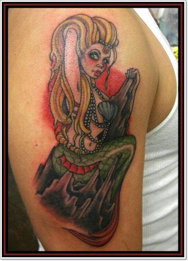 pin up girl tattoos 6