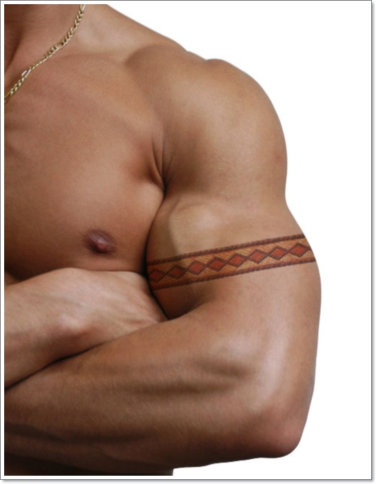 snake-skin-armband-tattoo-for-men