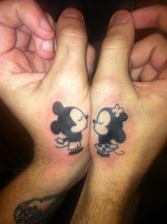 20 best couple tattoos permanently inking your passion for Best couples tattoos