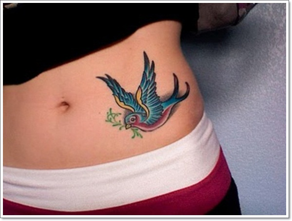55 bright swallow tattoos more than just a tattoo of a bird. Black Bedroom Furniture Sets. Home Design Ideas