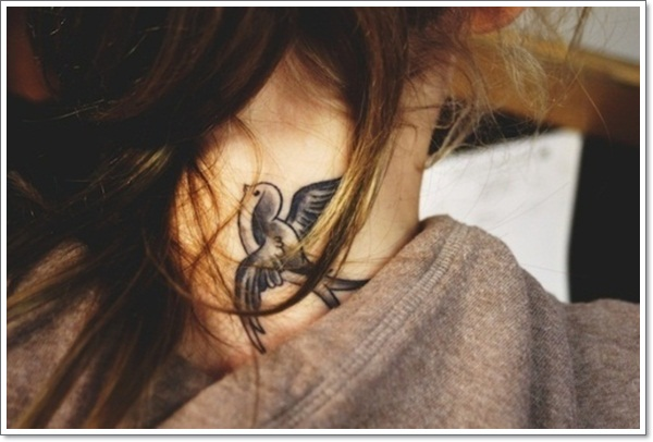 Swallow-Tattoo-Designs-on-Neck