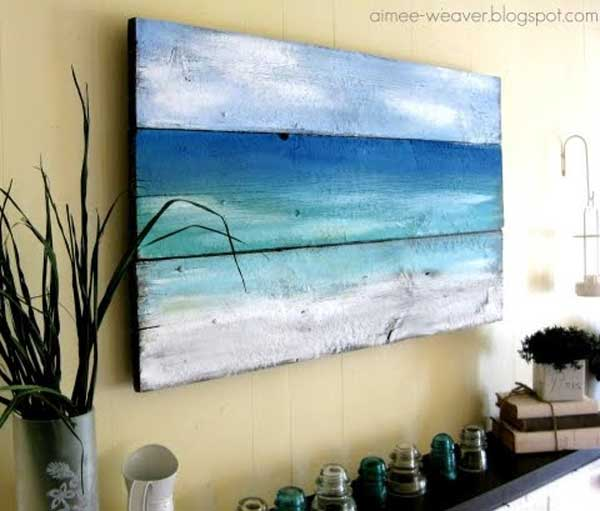 25 beach inspired ideas for your home for Sea inspired home decor