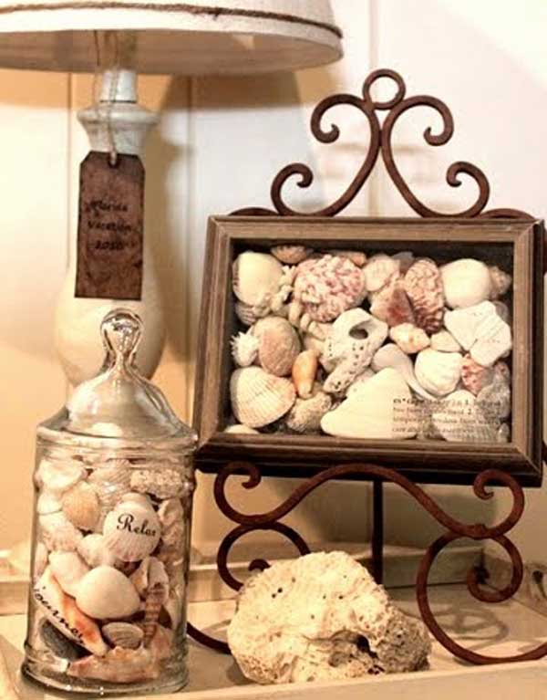 25 beach inspired ideas for your home for Handmade home decorations ideas