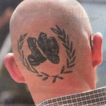 Skinhead Tattoo Fred Perry and Dr Marten's Neo Nazi Symbols Racism Anti semitism  Humor Chic by aleXsandro Palombo
