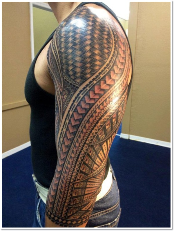 Tribal Tattoo With Color: Top 55 Tribal Tattoo Designs For Men And Women