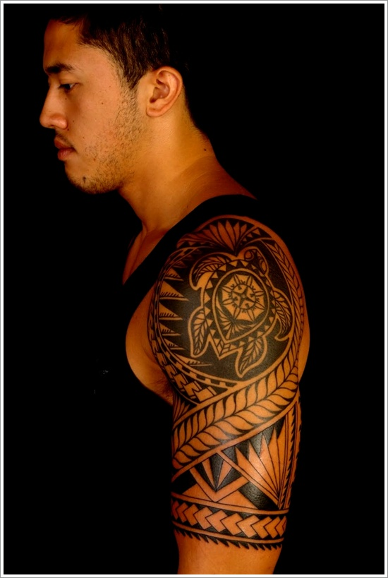 top 55 tribal tattoo designs for men and women. Black Bedroom Furniture Sets. Home Design Ideas