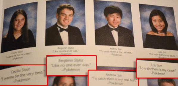 Funny Yearbook Quotes Twins: 32 Hilarious Senior Quotes That You Won't Believe Got