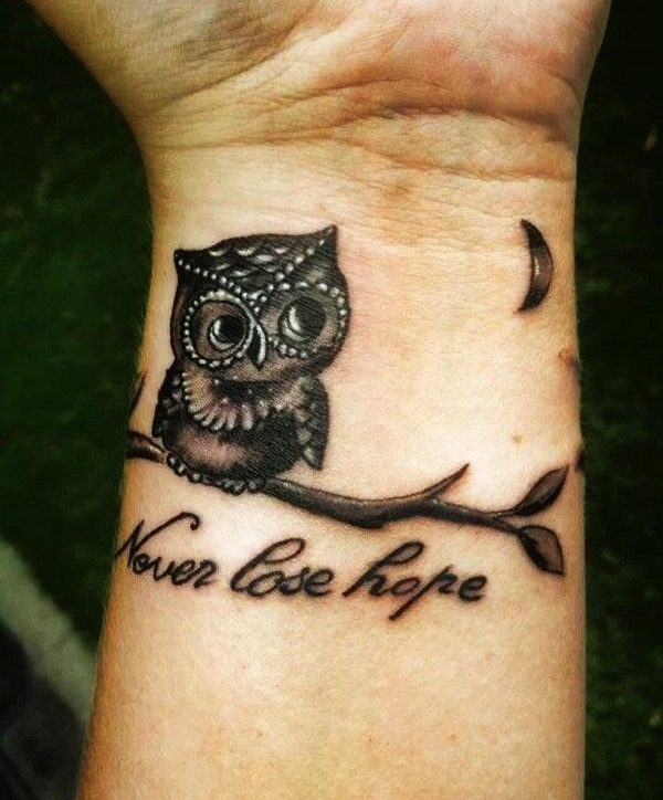 40 awesome wrist tattoo ideas for inspiration for Inspirational wrist tattoos