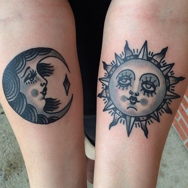 28 Matching Tattoo Designs Ideas: 40 Forever Matching Tattoo Ideas For Best Friends