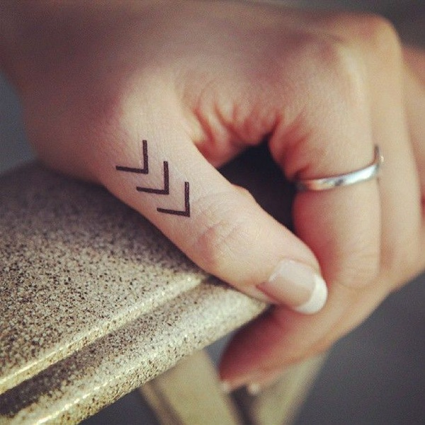 Cute Finger Tattoo Designs For Girls (2)