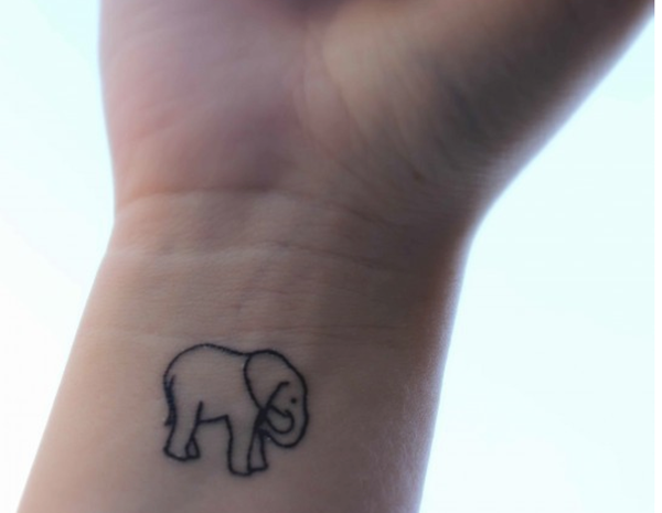 Extremely Cute Minimalistic Tattoo Designs (1)