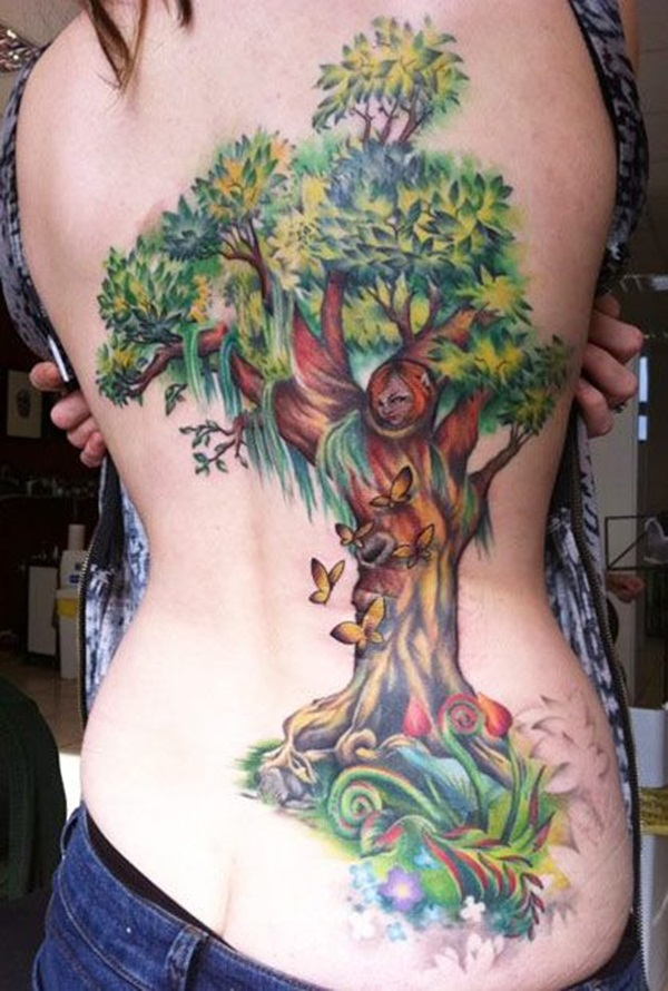 Lovely Nature Tattoo Designs (17)
