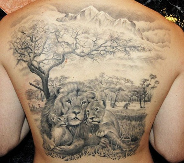 Lovely Nature Tattoo Designs (20)