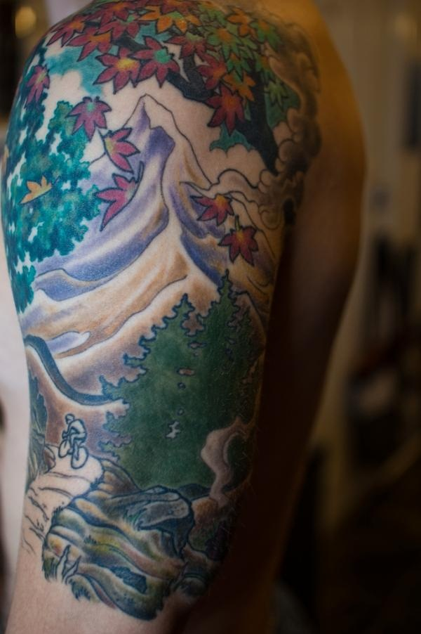 Lovely Nature Tattoo Designs (29)
