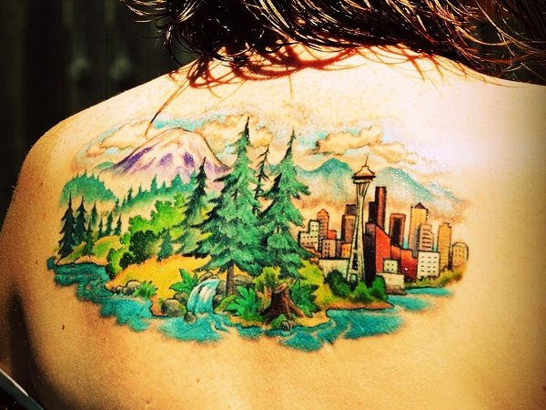 Lovely Nature Tattoo Designs (33)