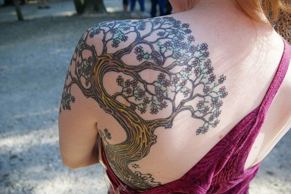 Lovely Nature Tattoo Designs (39)