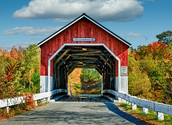 Spectacular Pictures Of Covered Bridges (12)