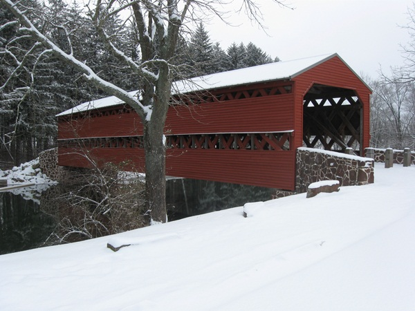 Spectacular Pictures Of Covered Bridges (28)