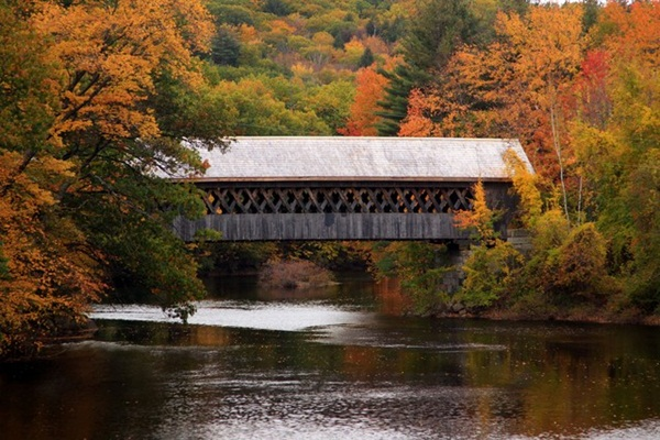 Spectacular Pictures Of Covered Bridges (3)