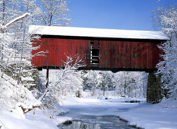 Spectacular Pictures Of Covered Bridges (4)