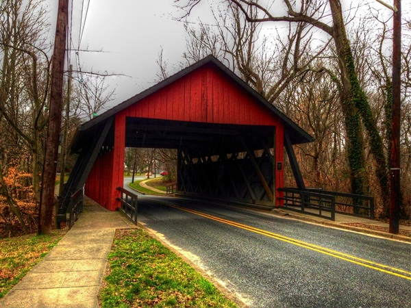 Spectacular Pictures Of Covered Bridges (5)
