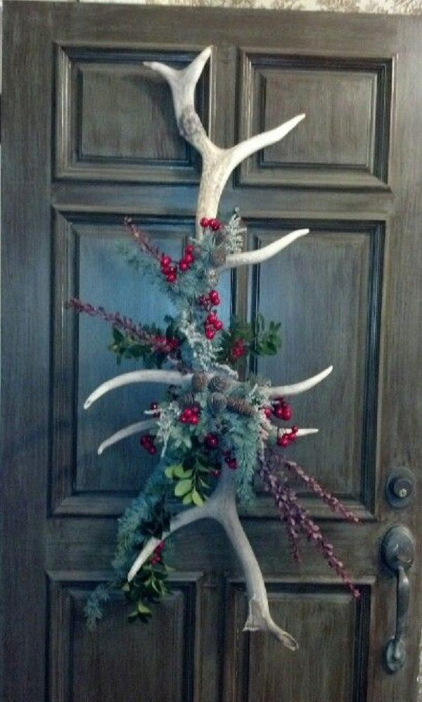 40 creative antlers decoration ideas for Antlers decoration