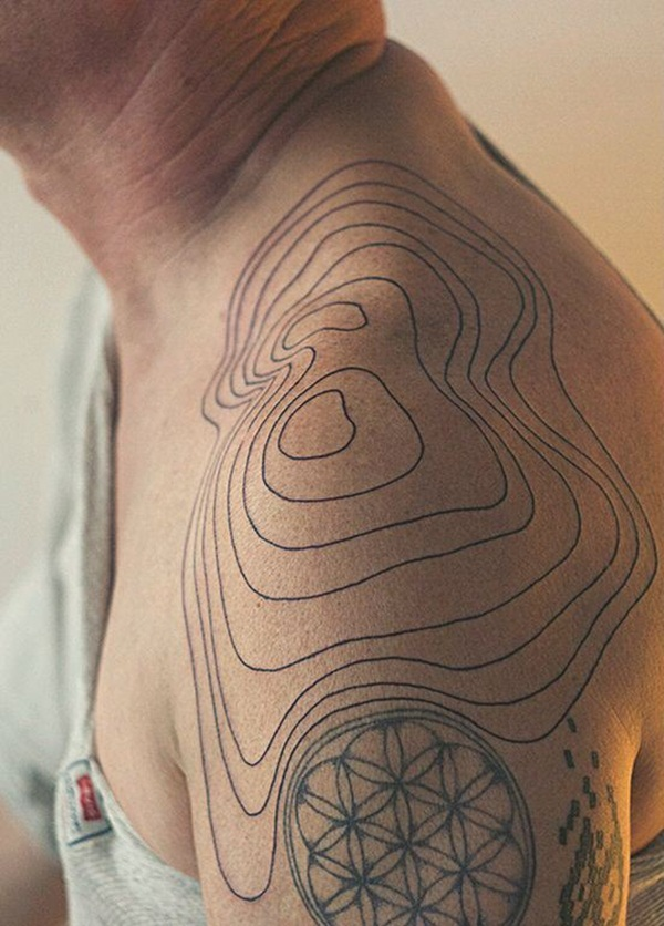 Fictional Topographic Tattoo Inspirations (22)