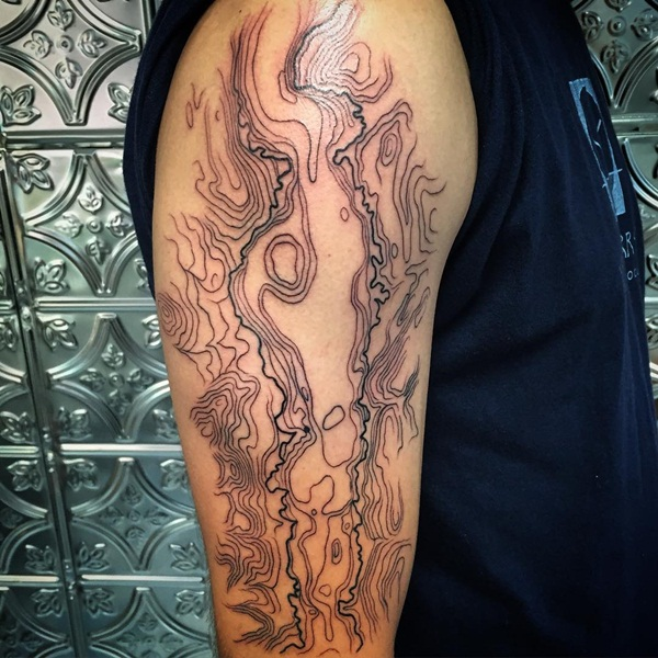 Fictional Topographic Tattoo Inspirations (39)