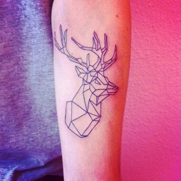 Inspiring Deer Tattoo Designs You May Fall In Love With (1)