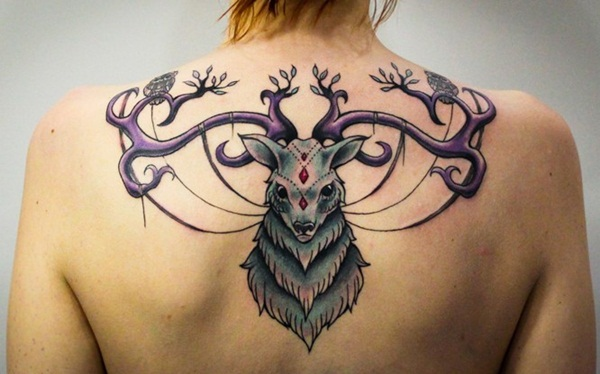 Inspiring Deer Tattoo Designs You May Fall In Love With (49)