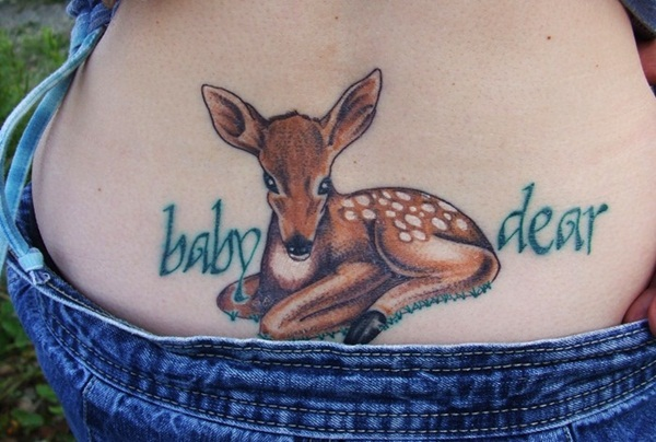 Inspiring Deer Tattoo Designs You May Fall In Love With (50)