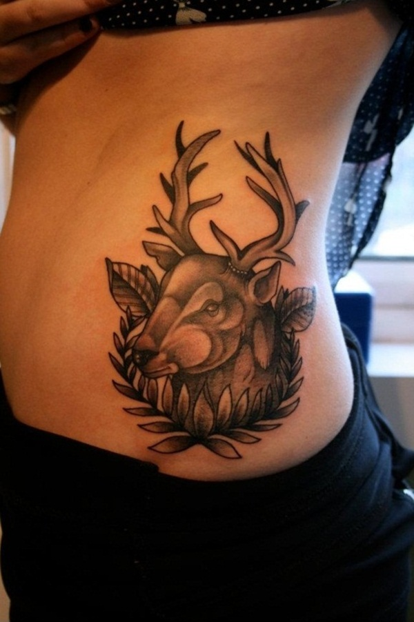 Inspiring Deer Tattoo Designs You May Fall In Love With (59)