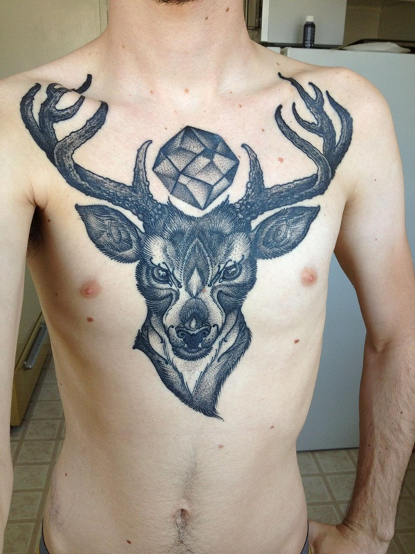 Inspiring Deer Tattoo Designs You May Fall In Love With (68)