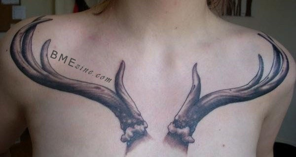 Inspiring Deer Tattoo Designs You May Fall In Love With (74)