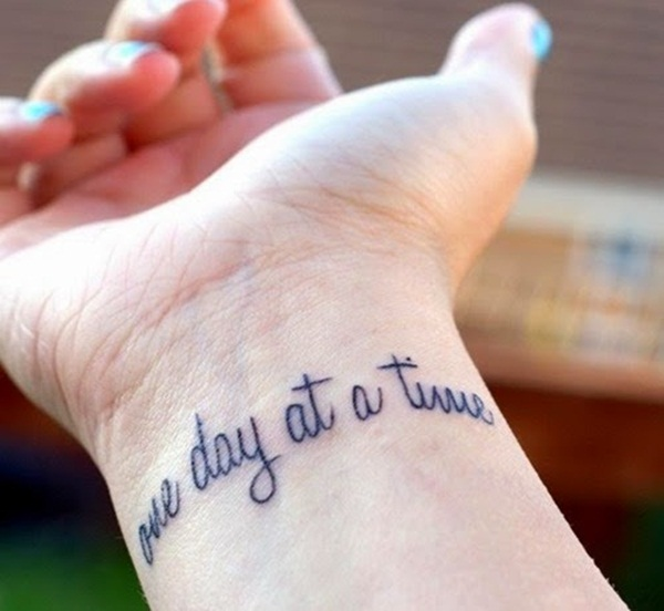 Tattoo Quotes Girl: 40 Meaningful Quote Tattoo Designs