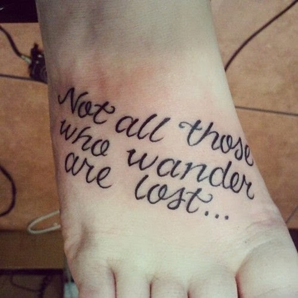 Tattoo Quotes Meaningful: 40 Meaningful Quote Tattoo Designs