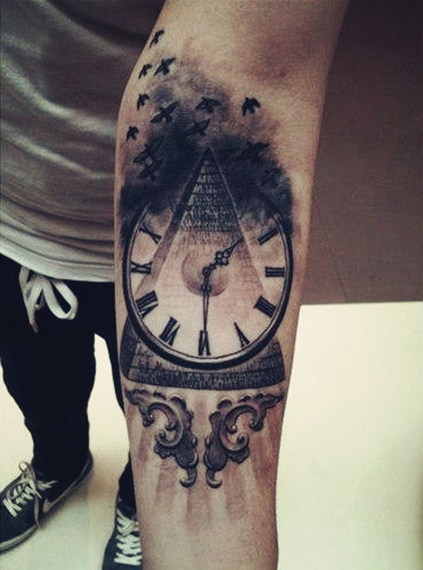 Simple and stunning Triangle Tattoo designs (11)