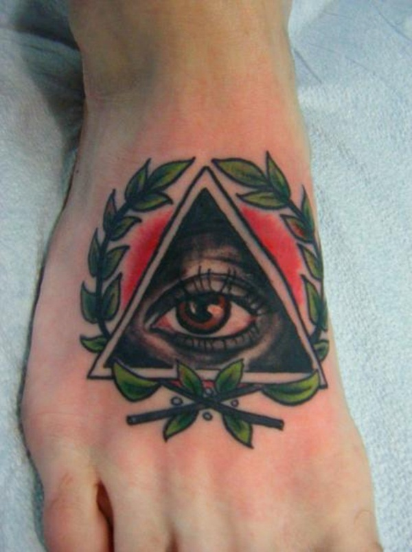 Simple and stunning Triangle Tattoo designs (21)