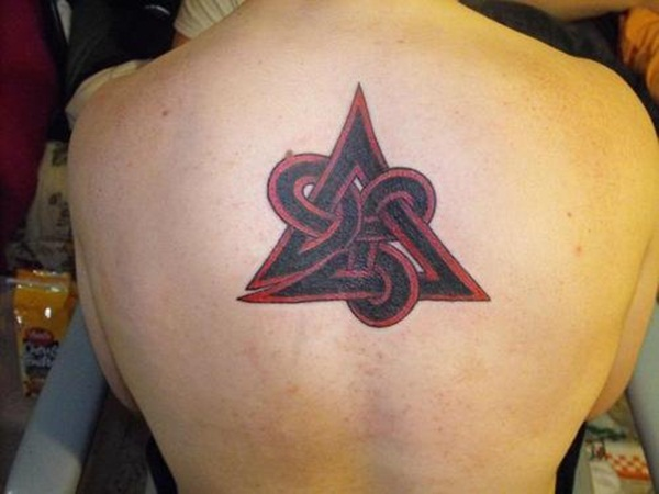 Simple and stunning Triangle Tattoo designs (53)