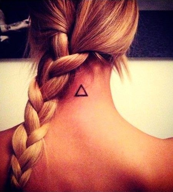 Simple and stunning Triangle Tattoo designs (57)